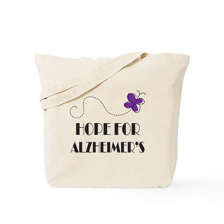 Hope For Alzheimer's Tote Bag