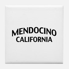 Mendocino California Tile Coaster
