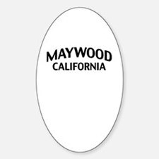 Maywood California Decal