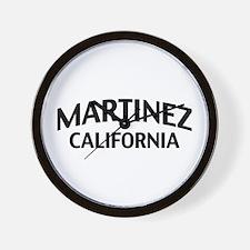 Martinez California Wall Clock