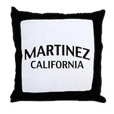 Martinez California Throw Pillow