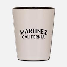 Martinez California Shot Glass