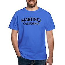 Martinez California T-Shirt