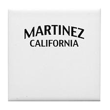 Martinez California Tile Coaster
