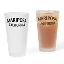 Mariposa California Drinking Glass