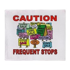 STOP THE CAR Throw Blanket