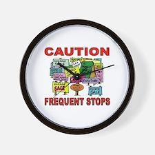 STOP THE CAR Wall Clock
