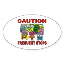 STOP THE CAR Decal