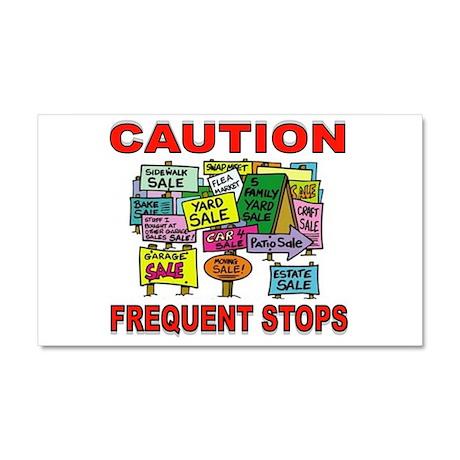 STOP THE CAR Car Magnet 20 x 12