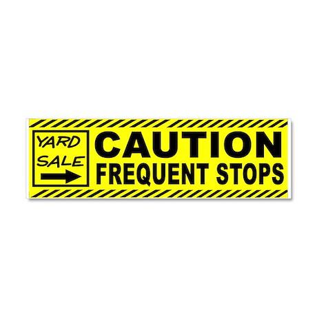 STOP THE CAR Car Magnet 10 x 3