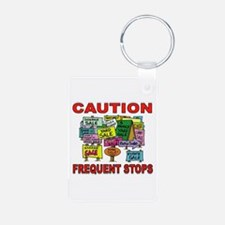 STOP THE CAR Keychains