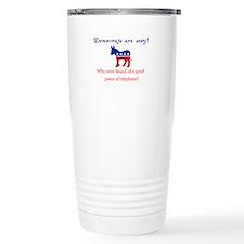 Democrats are Sexy - Original Travel Mug