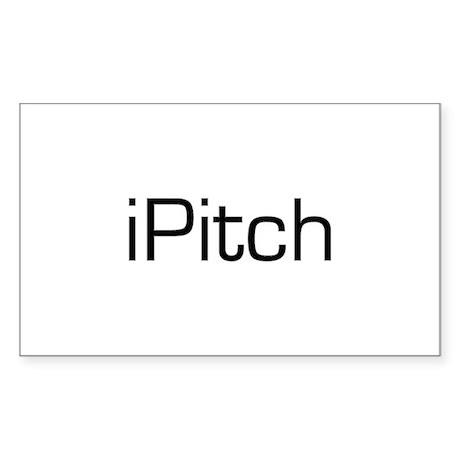 iPitch Sticker (Rectangle)