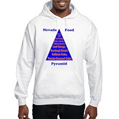 Nevada Food Pyramid Hoodie