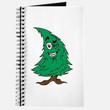 Cartoon Christmas Tree Journal