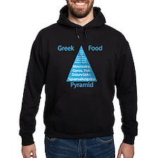 Greek Food Pyramid Hoodie