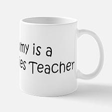 Mommy is a Peace Studies Teac Mug
