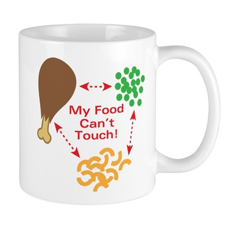 Food Can't Touch Mug