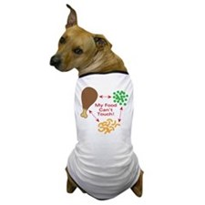 Food Can't Touch Dog T-Shirt