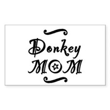 Donkey MOM Decal