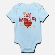 Jana Lassoed My Heart Infant Bodysuit
