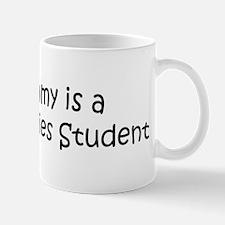 Mommy is a Peace Studies Stud Mug