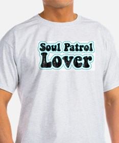 Retro Soul Patrol Ash Grey T-Shirt