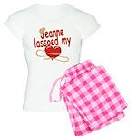 Jeanne Lassoed My Heart Women's Light Pajamas
