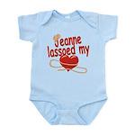 Jeanne Lassoed My Heart Infant Bodysuit