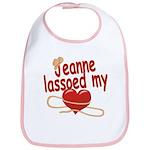 Jeanne Lassoed My Heart Bib
