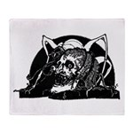 Clarke Poe Vignette 4 Throw Blanket