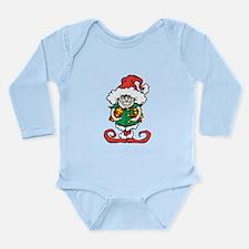 Christmas Elf Long Sleeve Infant Bodysuit