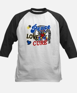 Peace Love Cure 2 Autism Shirts Gifts Tee