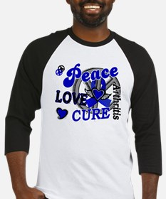 Peace Love Cure 2 Arthritis Shirts Gifts Baseball