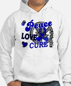 Peace Love Cure 2 Arthritis Shirts Gifts Hoodie