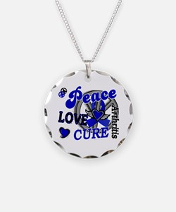 Peace Love Cure 2 Arthritis Shirts Gifts Necklace