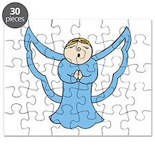 Christmas Carol Angel Puzzle