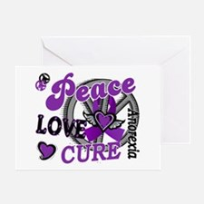 Peace Love Cure 2 Anorexia Shirts Gifts Greeting C