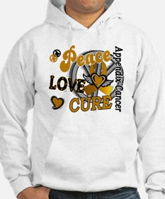 Peace Love Cure 2 Appendix Cancer Shirts Gifts Hoo