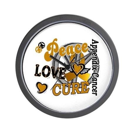 Peace Love Cure 2 Appendix Cancer Shirts Gifts Wal