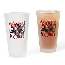 Peace Love Cure 2 Brain Tumor Shirts Gifts Drinkin