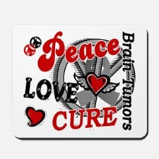 Peace Love Cure 2 Brain Tumor Shirts Gifts Mousepa