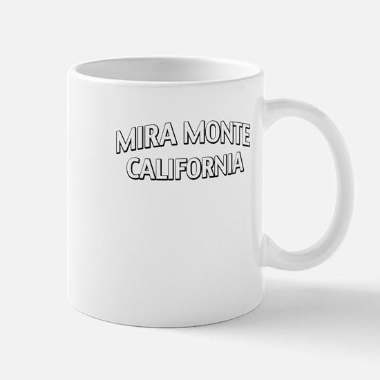 Mira Monte California Mug