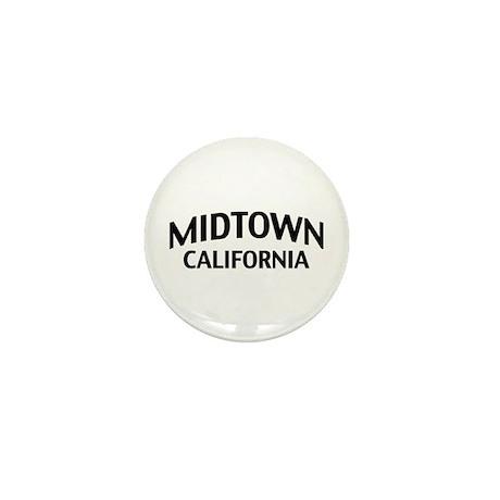 Midtown California Mini Button