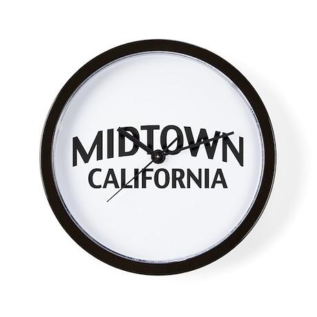 Midtown California Wall Clock