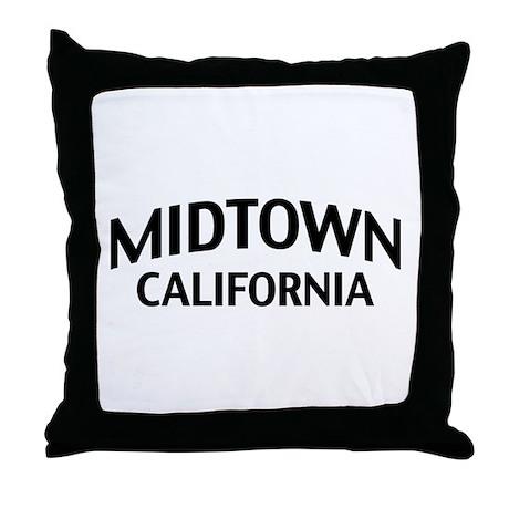 Midtown California Throw Pillow