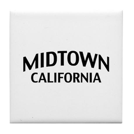 Midtown California Tile Coaster