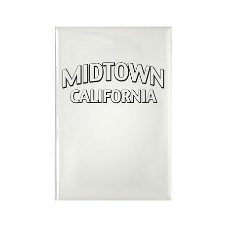 Midtown California Rectangle Magnet