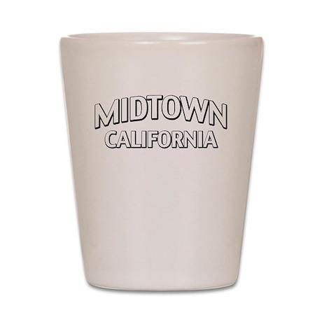 Midtown California Shot Glass