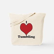 I Love Tumbling Tote Bag